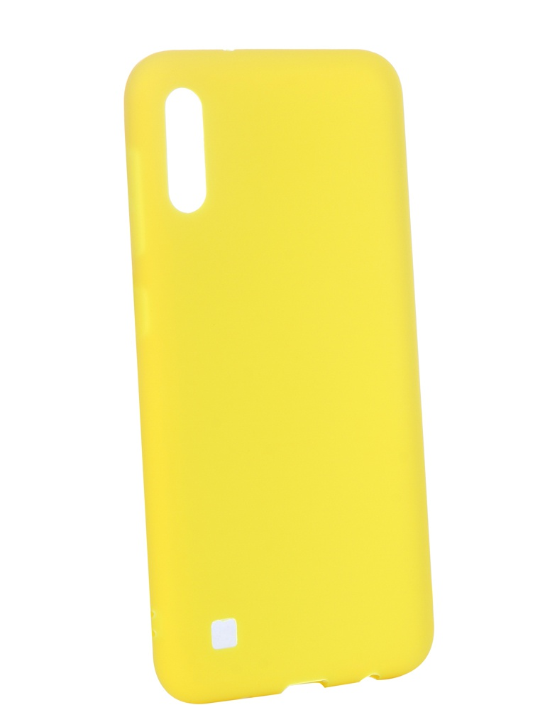 Аксессуар Чехол Zibelino для Samsung Galaxy A10 A105 2019 Soft Matte Yellow ZSM-SAM-A10-YEL аксессуар чехол zibelino для samsung galaxy j2 core j260f 2018 soft matte yellow zsm sam j260f yel