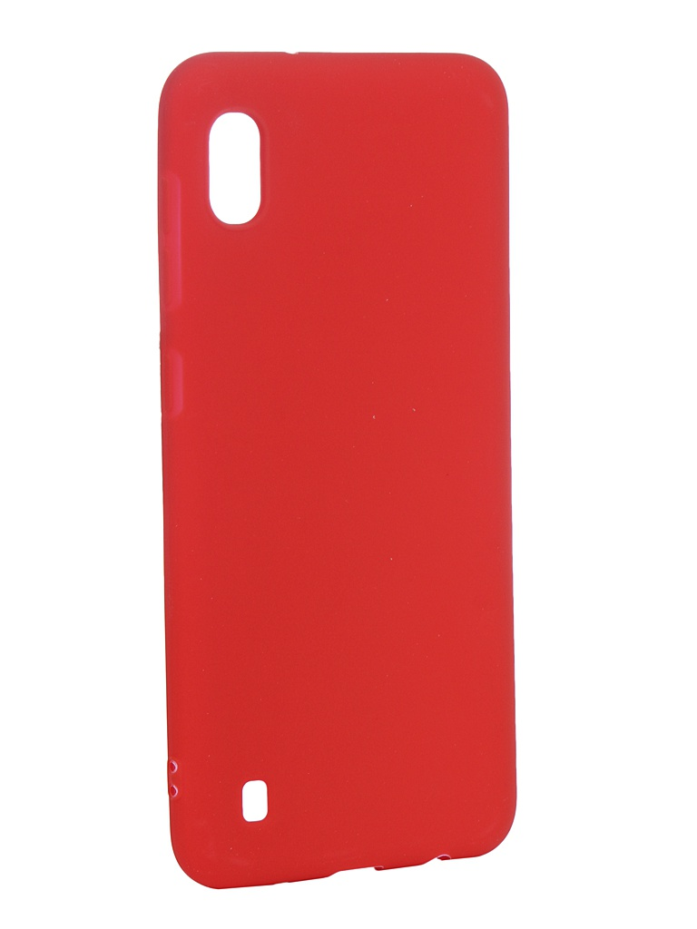 Чехол Zibelino для Samsung Galaxy A10 A105 2019 Soft Matte Red ZSM-SAM-A10-RED