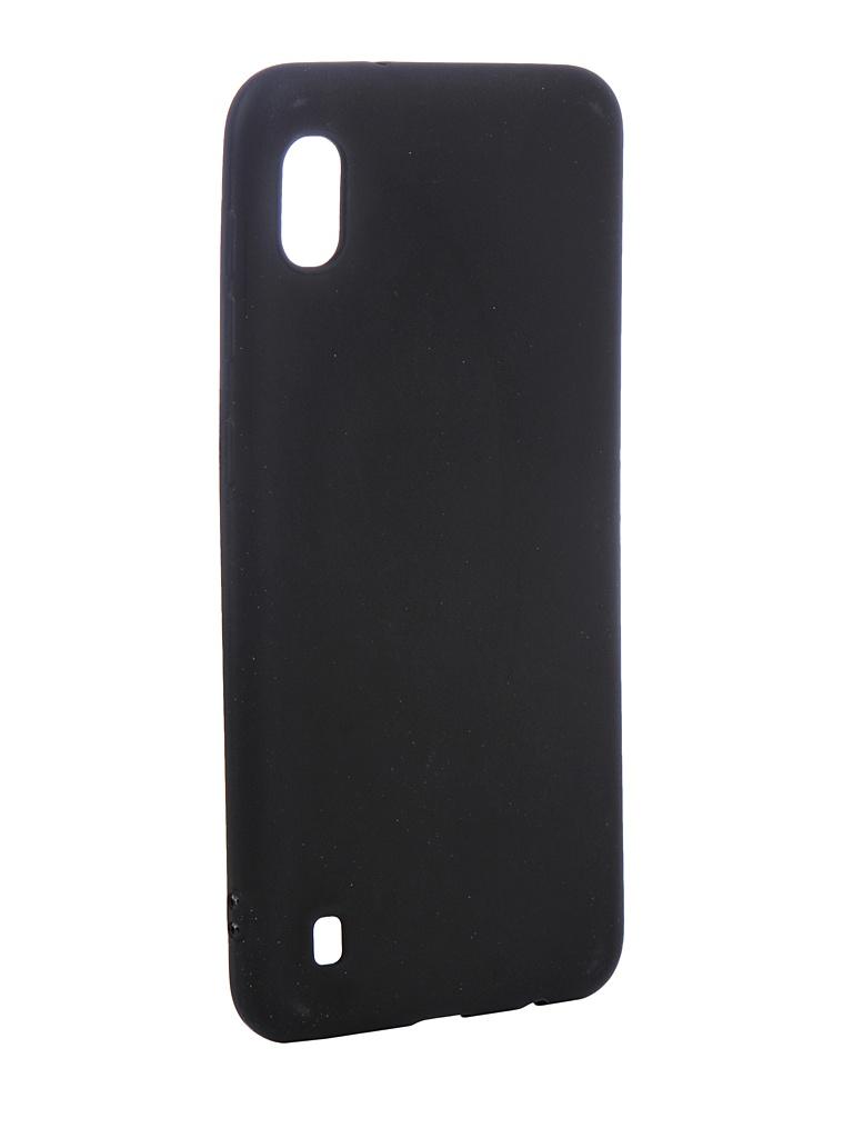 Аксессуар Чехол Zibelino для Samsung Galaxy A10 A105 2019 Soft Matte Black ZSM-SAM-A10-BLK аксессуар чехол для sony xz2 compact zibelino soft matte black zsm son xz2 cmp blk