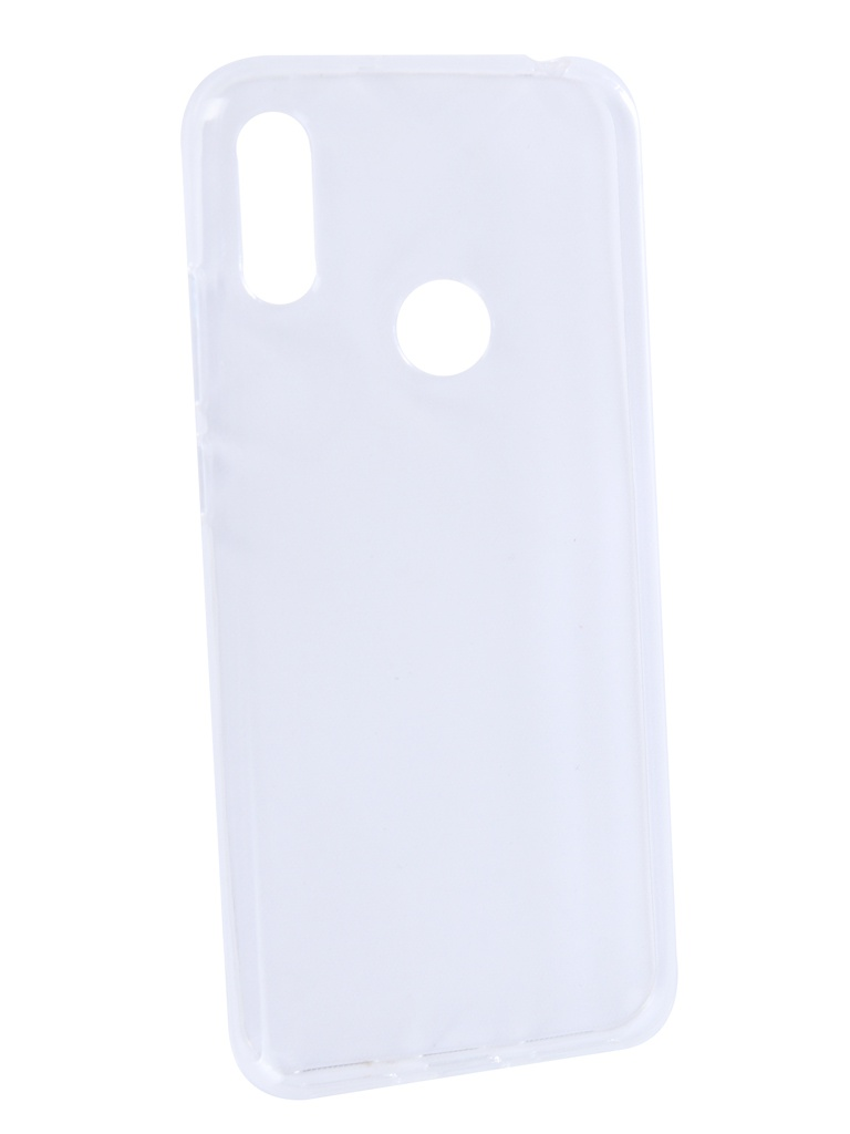 Аксессуар Чехол Zibelino для Huawei Y6 2019 Ultra Thin Case Transparent ZUTC-HUA-Y6-2019-WHT