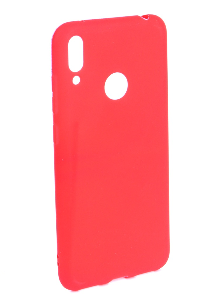 Аксессуар Чехол Zibelino для Huawei Y7 (6.26) 2019 Soft Matte Red ZSM-HUA-Y7-RED