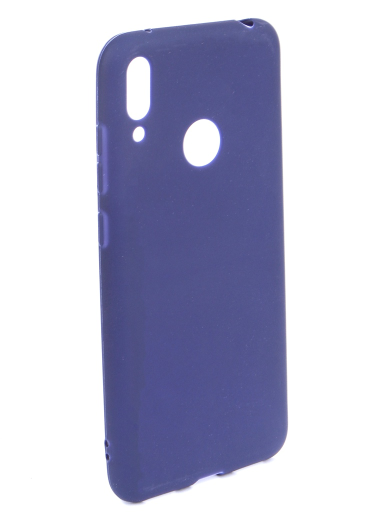 Аксессуар Чехол Zibelino для Huawei Y7 (6.26) 2019 Soft Matte Dark Blue ZSM-HUA-Y7-DBLU аксессуар чехол zibelino для honor 8c 2018 soft matte dark blue zsm hua 8c dbl