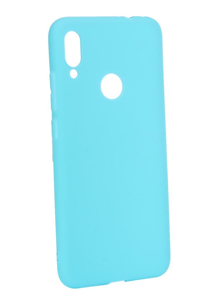 цена на Аксессуар Чехол Zibelino для Xiaomi Redmi Note 7 2019 Soft Matte Turquoise ZSM-XIA-RDM-NOT7-TSG