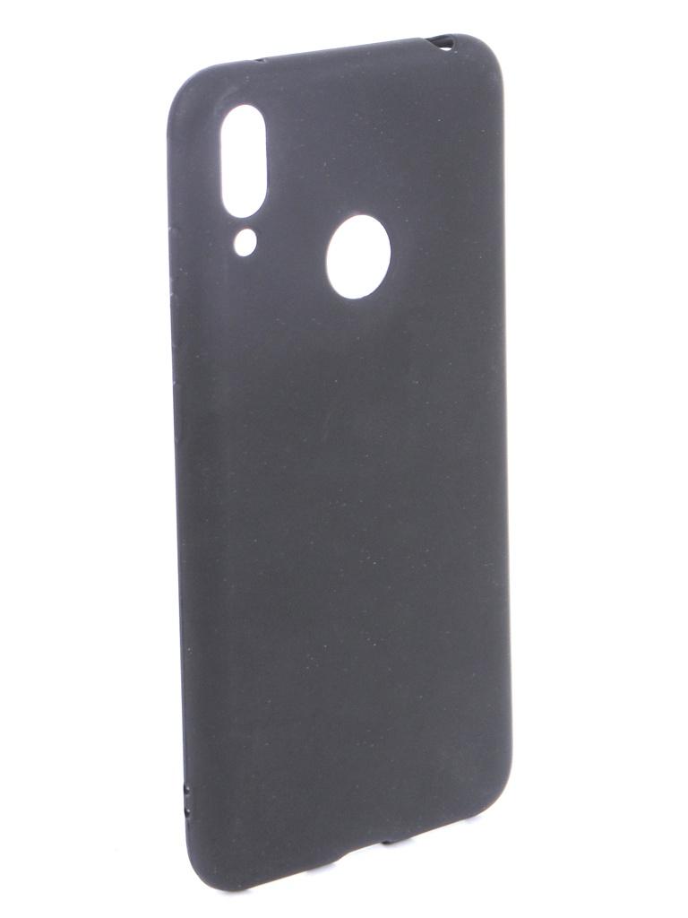 Аксессуар Чехол Zibelino для Huawei Y7 (6.26) 2019 Soft Matte Black ZSM-HUA-Y7-BLK