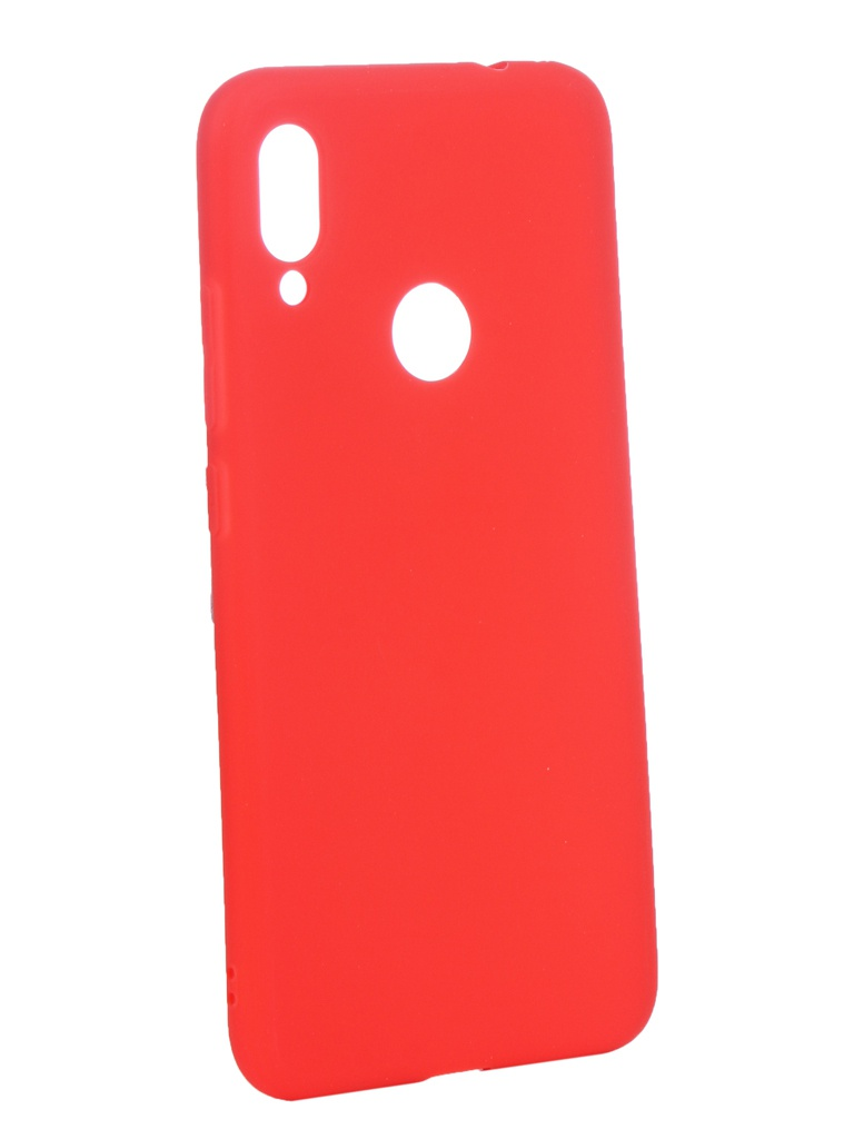Аксессуар Чехол Zibelino для Xiaomi Redmi Note 7 2019 Soft Matte Red ZSM-XIA-RDM-NOT7-RED аксессуар чехол zibelino для xiaomi redmi 7 2019 soft matte pink zsm xia rdm 7 pnk