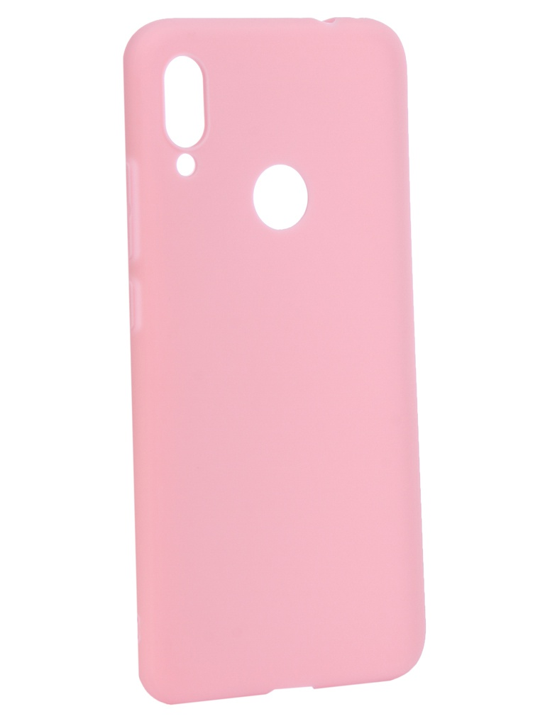 Аксессуар Чехол Zibelino для Xiaomi Redmi Note 7 2019 Soft Matte Pink ZSM-XIA-RDM-NOT7-PNG
