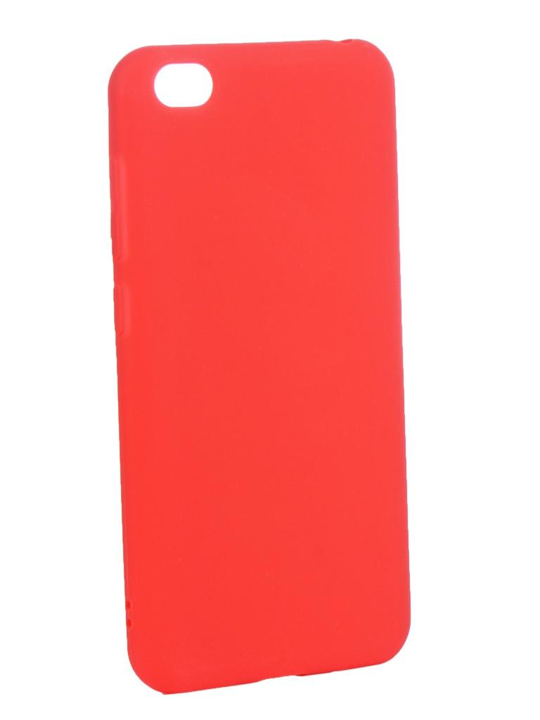 Чехол Zibelino для Xiaomi Redmi Go 2019 Soft Matte Red ZSM-XIA-GO-RED