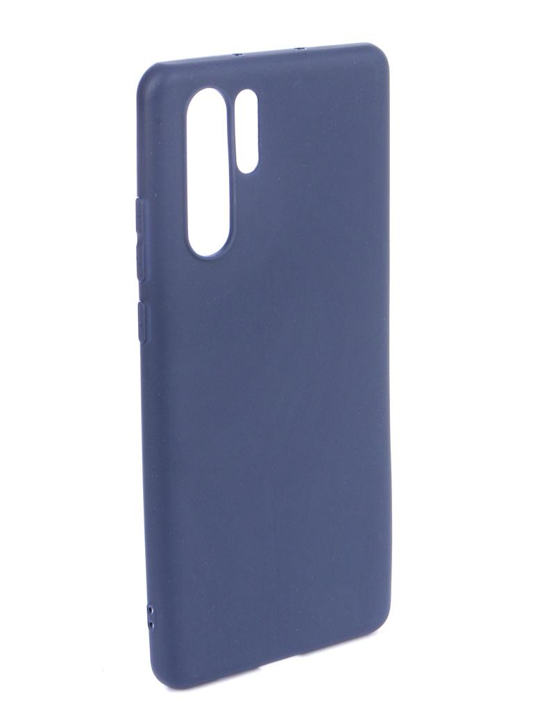 Чехол Zibelino для Huawei P30 Pro (6.5) 2019 Soft Matte Blue ZSM-HUA-P30-PRO-BLU