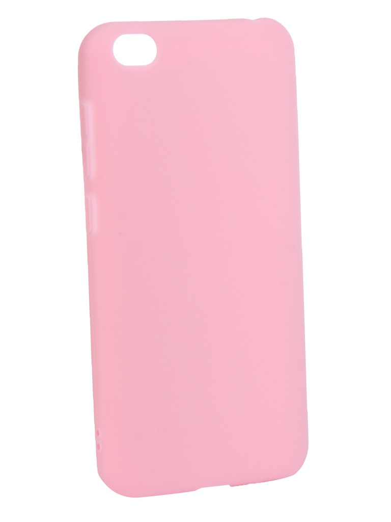 Аксессуар Чехол Zibelino для Xiaomi Redmi Go 2019 Soft Matte Pink ZSM-XIA-GO-PNK аксессуар чехол zibelino для huawei nova 4 2018 soft matte red zsm hua nova4 red