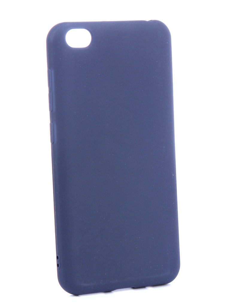 цена на Аксессуар Чехол Zibelino для Xiaomi Redmi Go 2019 Soft Matte Dark Blue ZSM-XIA-GO-DBLU