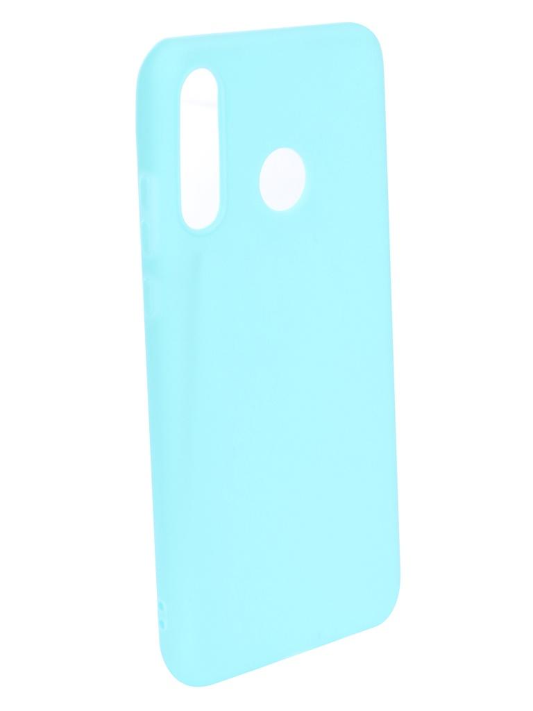 Чехол Zibelino для Huawei P30 Lite (6.1) 2019 Soft Matte Turquoise ZSM-HUA-P30-LT-TGS