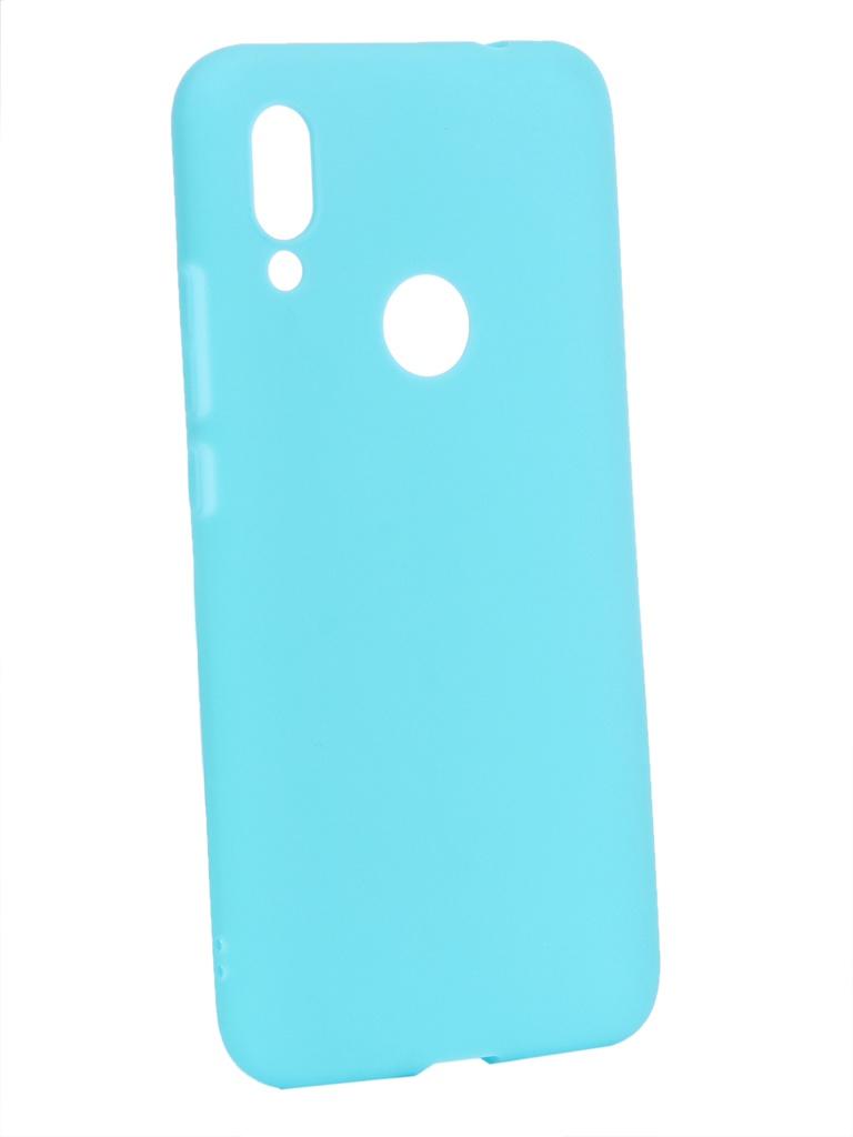 Чехол Zibelino для Xiaomi Redmi 7 2019 Soft Matte Turquoise ZSM-XIA-RDM-7-TSG
