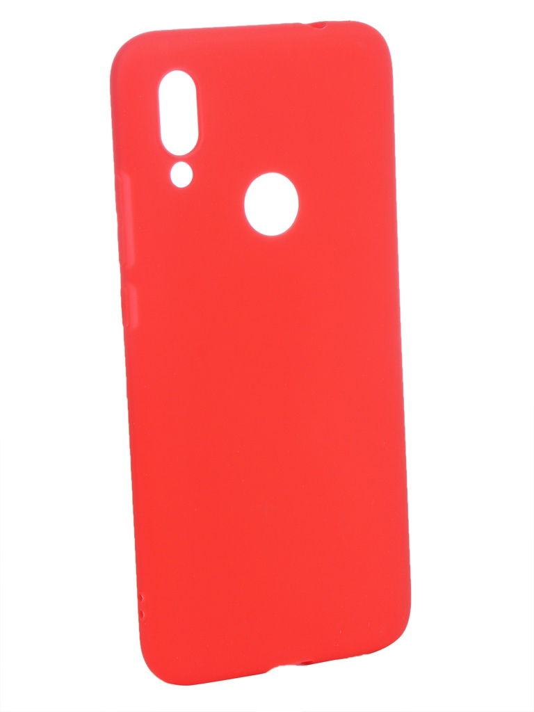 Аксессуар Чехол Zibelino для Xiaomi Redmi 7 2019 Soft Matte Red ZSM-XIA-RDM-7-RED sub2o1 red