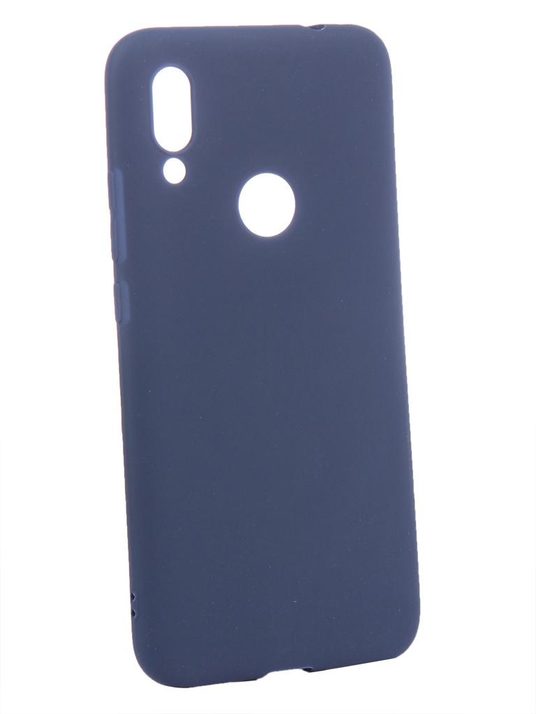 Аксессуар Чехол Zibelino для Xiaomi Redmi 7 2019 Soft Matte Blue ZSM-XIA-RDM-7-BLU