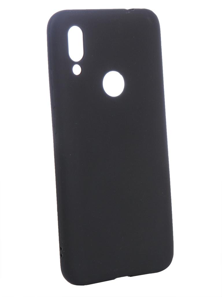Аксессуар Чехол Zibelino для Xiaomi Redmi 7 2019 Soft Matte Black ZSM-XIA-RDM-7-BLK цена