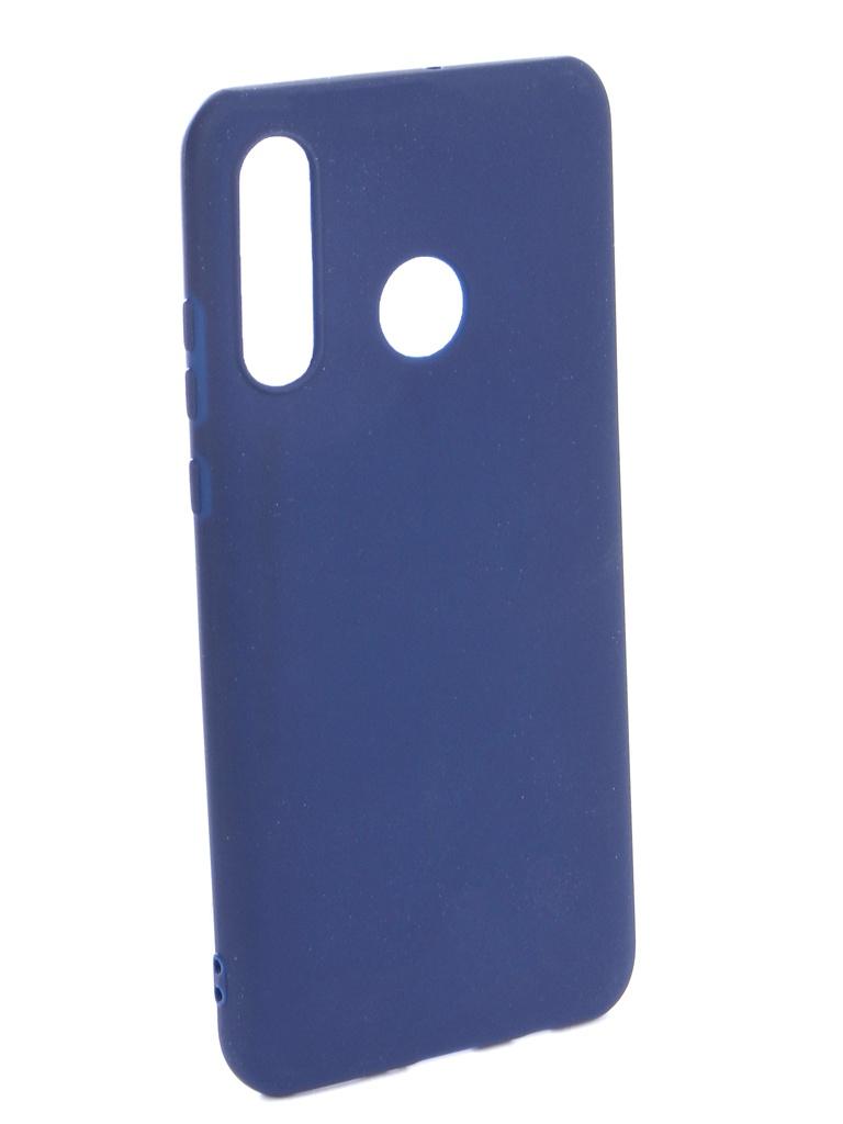 Аксессуар Чехол Zibelino для Huawei P30 Lite (6.1) 2019 Soft Matte Dark Blue ZSM-HUA-P30-LT-DBLU аксессуар чехол zibelino для huawei mate 20x soft matte dark blue zsm hua m20x dbl