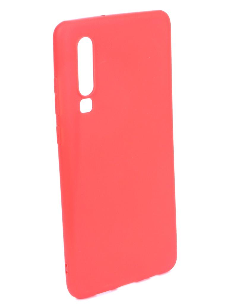 Аксессуар Чехол Zibelino для Huawei P30 (6.1) 2019 Soft Matte Red ZSM-HUA-P30-RED аксессуар чехол zibelino для huawei p30 6 1 2019 soft matte dark blue zsm hua p30 dblu