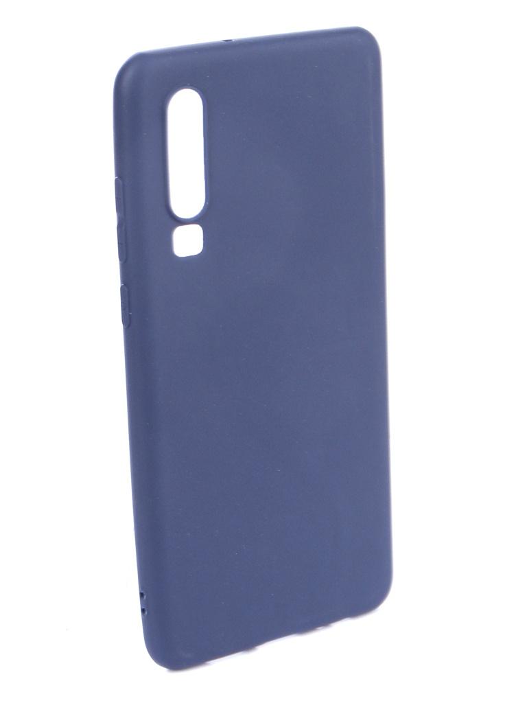 Аксессуар Чехол Zibelino для Huawei P30 (6.1) 2019 Soft Matte Dark Blue ZSM-HUA-P30-DBLU аксессуар чехол zibelino для huawei mate 20x soft matte dark blue zsm hua m20x dbl