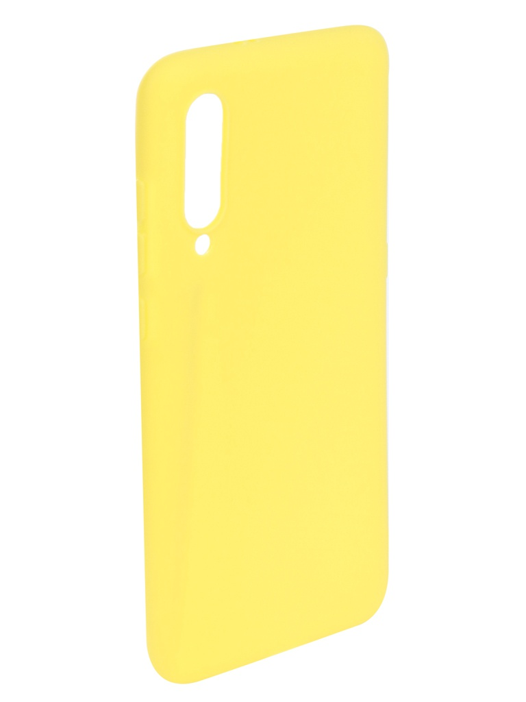 Аксессуар Чехол Zibelino для Xiaomi Mi9 2019 Soft Matte Yellow ZSM-XIA-MI9-YELL аксессуар чехол zibelino для xiaomi mi9 se 2019 soft matte red zsm xia mi9se red