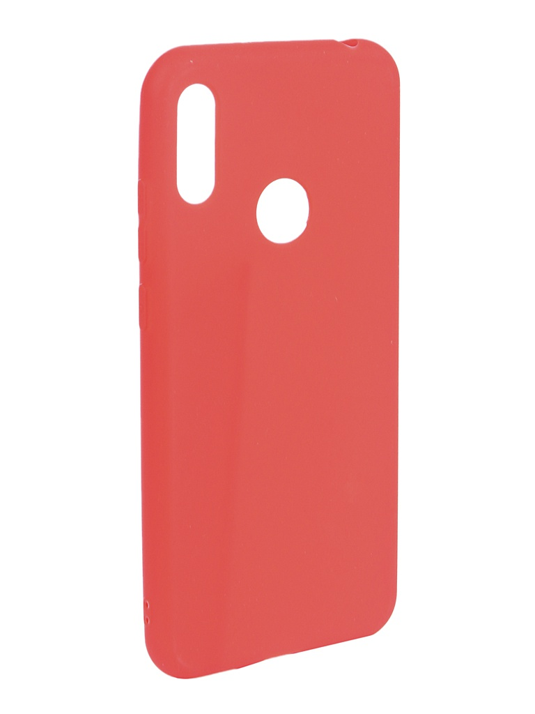 Аксессуар Чехол Zibelino для Honor 8A (6.1) 2019 Soft Matte Red ZSM-HUA-8A-RED аксессуар чехол zibelino для honor 8a 6 1 2019 soft matte pink zsm hua 8a pnk