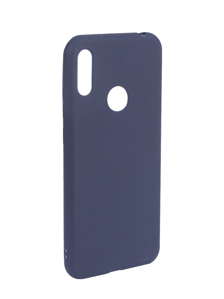 Аксессуар Чехол Zibelino для Honor 8A (6.1) 2019 Soft Matte Dark Blue ZSM-HUA-8A-DBLU аксессуар чехол zibelino для honor 8a 6 1 2019 soft matte pink zsm hua 8a pnk