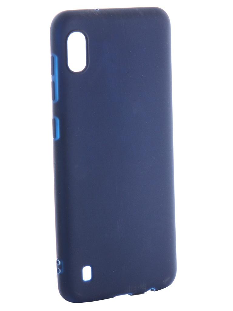 Аксессуар Чехол Neypo для Samsung Galaxy A10 2019 Soft Matte Silicone Dark Blue NST11681