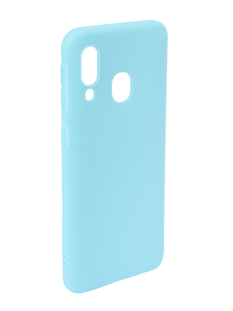 Аксессуар Чехол Neypo для Samsung Galaxy A40 2019 Soft Matte Silicone Turquoise NST11581