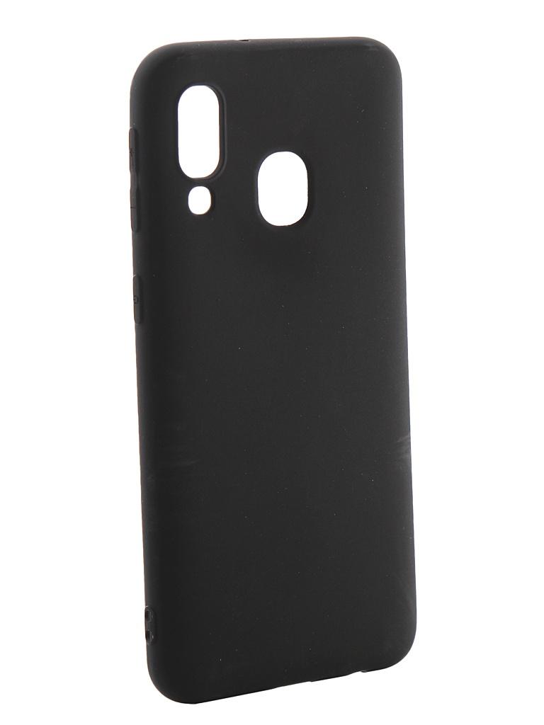 Аксессуар Чехол Neypo для Samsung Galaxy A40 2019 Soft Matte Silicone Black NST11693