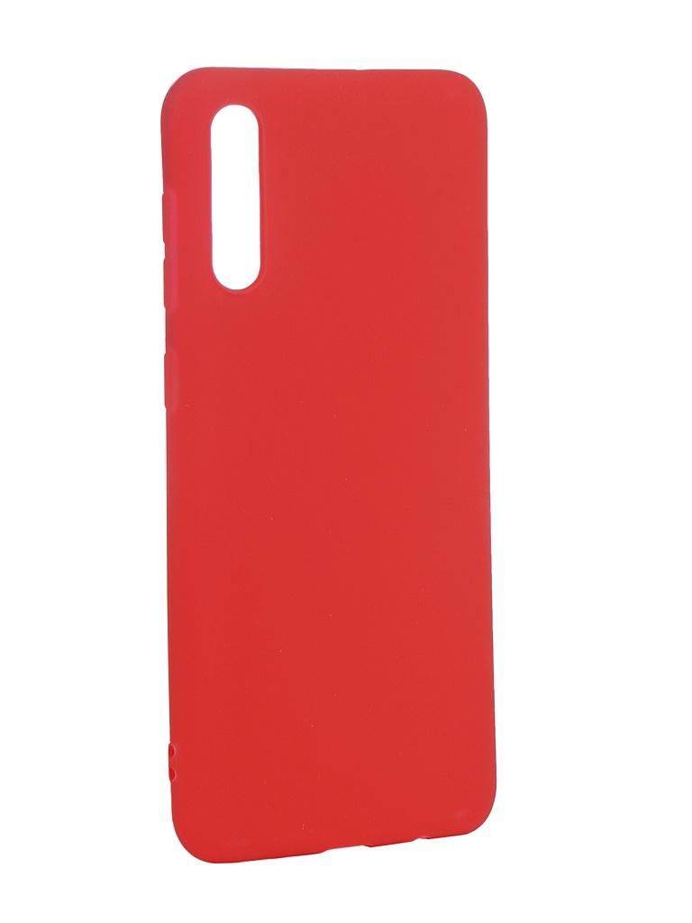 Аксессуар Чехол Neypo для Samsung Galaxy A50 2019 Soft Matte Silicone Red NST11695
