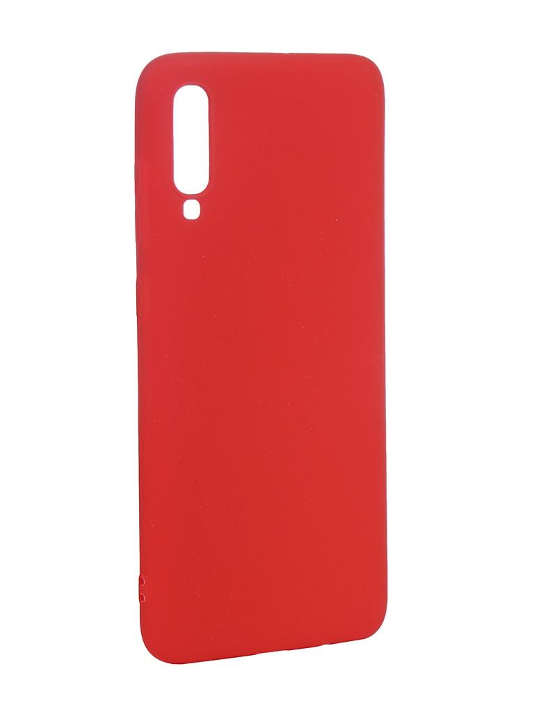 Аксессуар Чехол Neypo для Samsung Galaxy A70 2019 Soft Matte Silicone Red NST11838