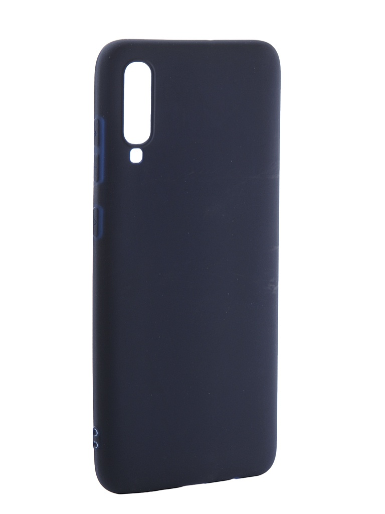 Чехол Neypo для Samsung Galaxy A70 2019 Soft Matte Silicone Dark Blue NST11839