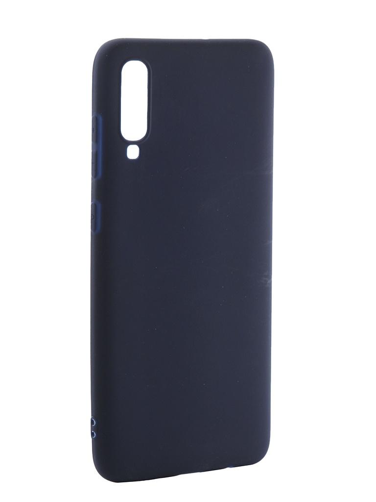 Аксессуар Чехол Neypo для Samsung Galaxy A70 2019 Soft Matte Silicone Dark Blue NST11839