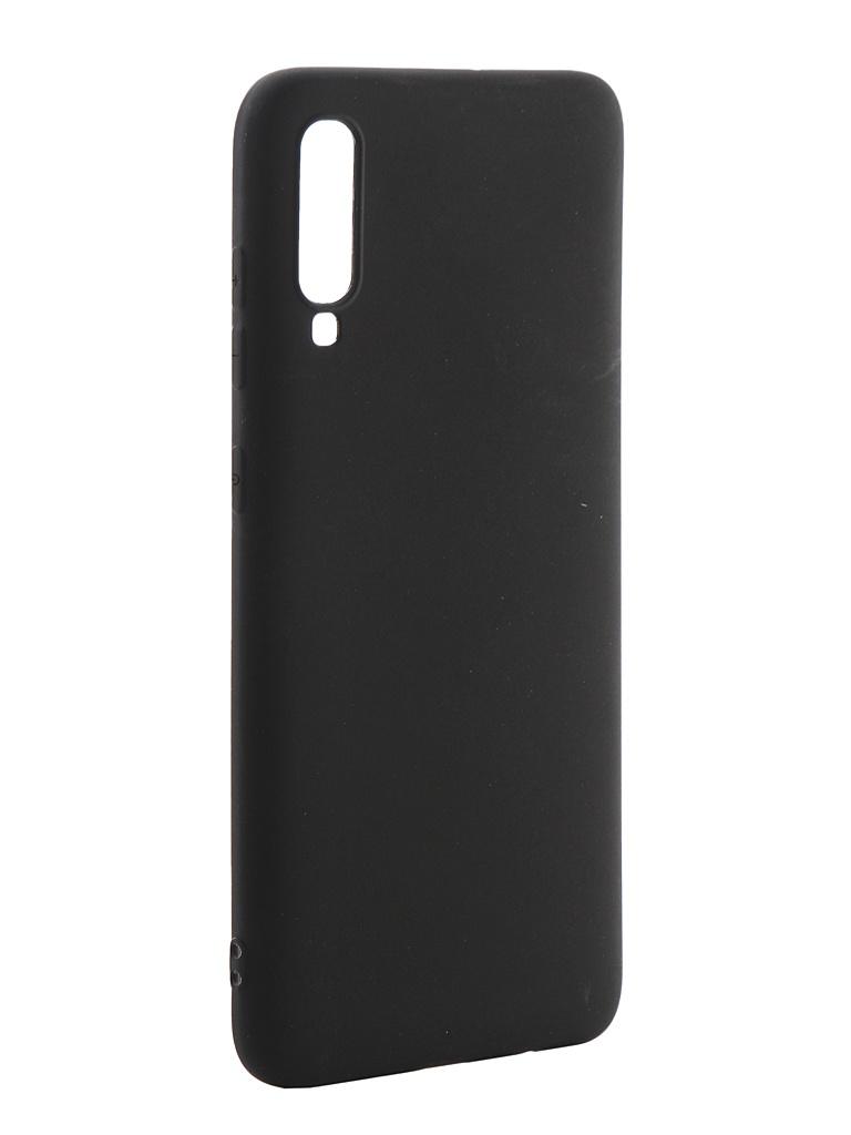 Чехол Neypo для Samsung Galaxy A70 2019 Soft Matte Silicone Black NST11840