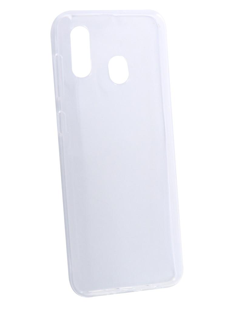 Аксессуар Чехол Neypo для Samsung Galaxy A20 2019 Silicone Transparent NST11498