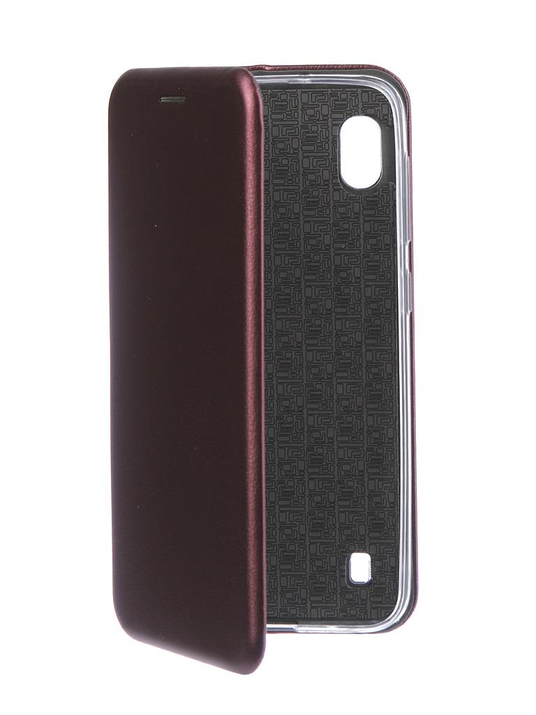 Чехол Neypo для Samsung Galaxy A10 2019 Premium Bordo NSB11821