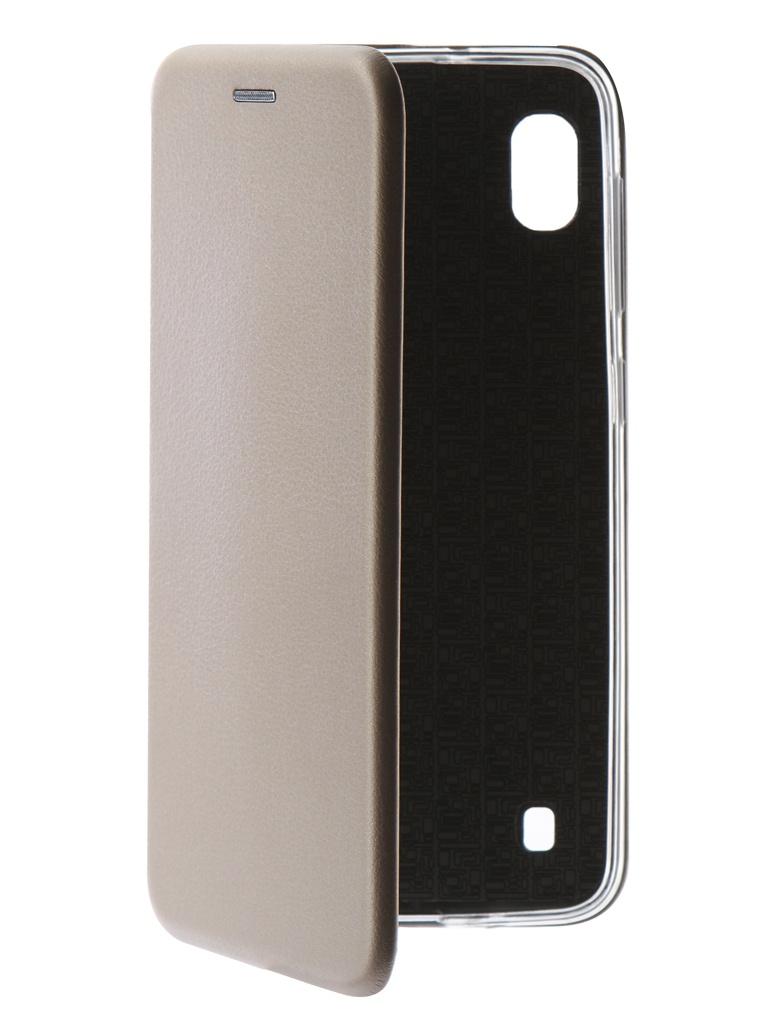 Аксессуар Чехол Neypo для Samsung Galaxy A10 2019 Premium Gold NSB11574