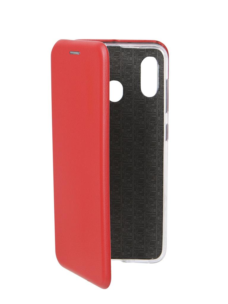 Аксессуар Чехол Neypo для Samsung Galaxy A20 2019 Premium Red NSB11567