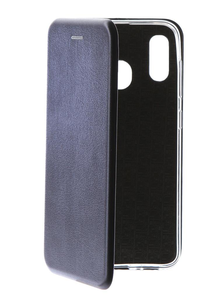Чехол Neypo для Samsung Galaxy A20 2019 Premium Blue NSB11565