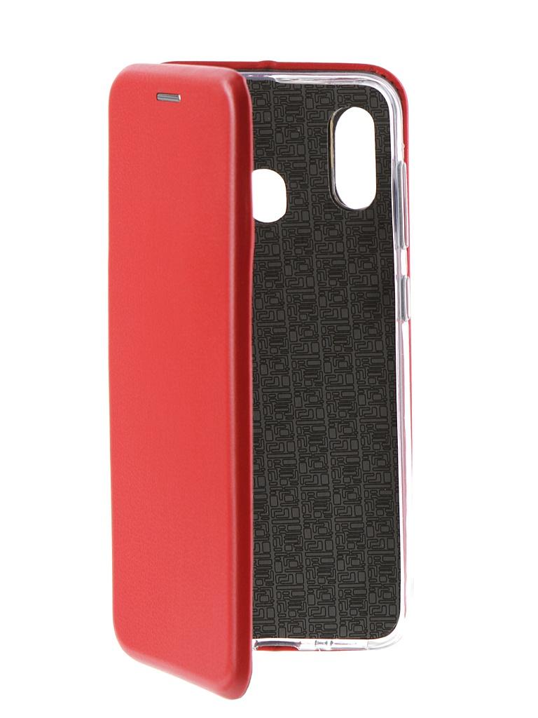 Аксессуар Чехол Neypo для Samsung Galaxy A30 2019 Premium Red NSB11568