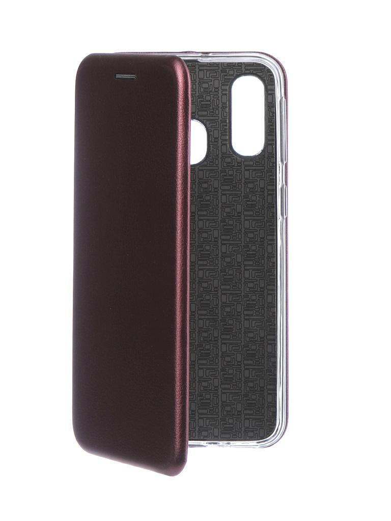 Аксессуар Чехол Neypo для Samsung Galaxy A40 2019 Premium Bordo NSB11822
