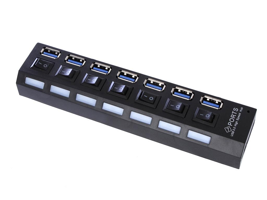 Хаб USB Palmexx 7xUSB 3.0 PX/HUB-7USB3.0-S хаб usb palmexx type c hdmi карт ридер yc 210 px hub typec yc210