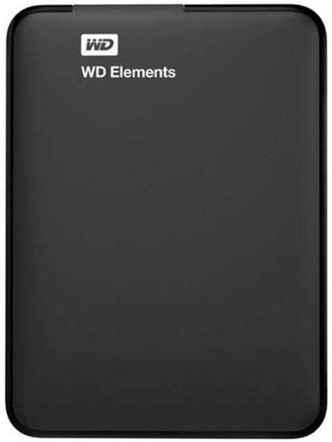 Жесткий диск Western Digital USB 3.0 1Tb Black WDBMTM0010BBK-EEUE