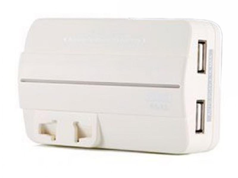Аксессуар Remax Plug Adapter RS-X1 для EU/US/AU/UK + 2xUSB 2.1A White
