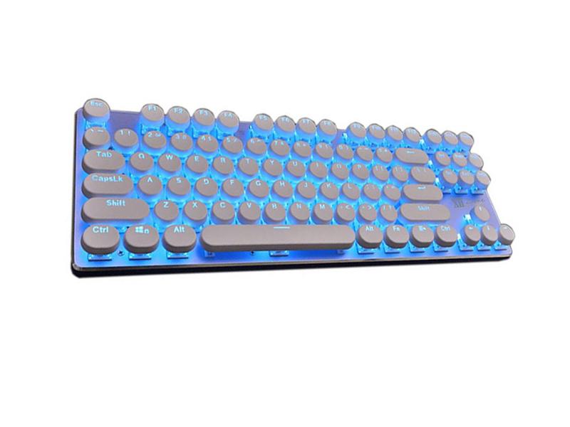 Клавиатура Remax XII-J590 Wireless White-Blue