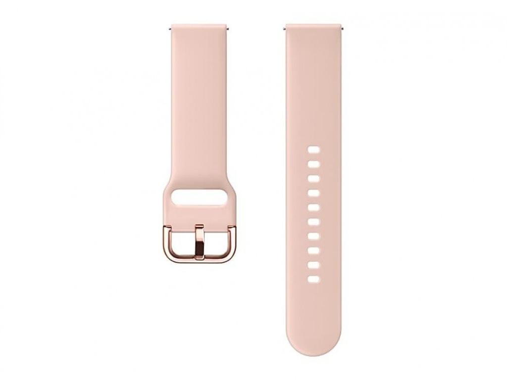 Аксессуар Ремешок Samsung Galaxy Watch Active M Light Pink ET-SFR50MPEGRU аксессуар ремешок samsung galaxy watch 42mm silicone silver et ysu81msegru