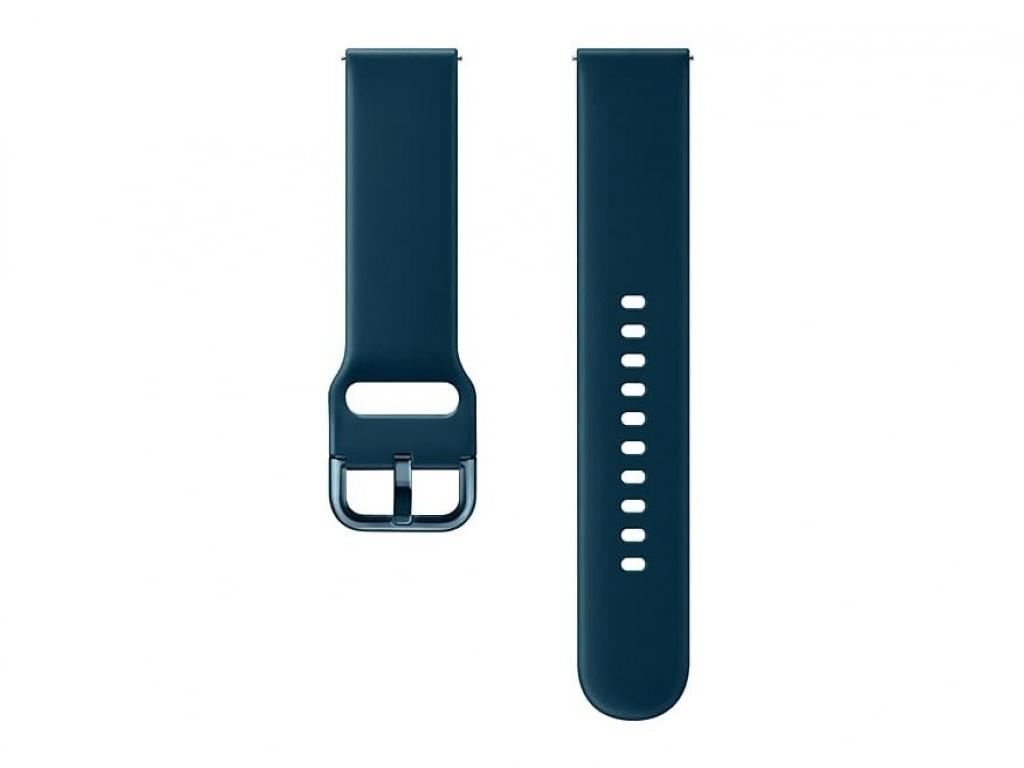 Аксессуар Ремешок Samsung Galaxy Watch Active M Green ET-SFR50MGEGRU аксессуар ремешок samsung galaxy watch 42mm silicone silver et ysu81msegru