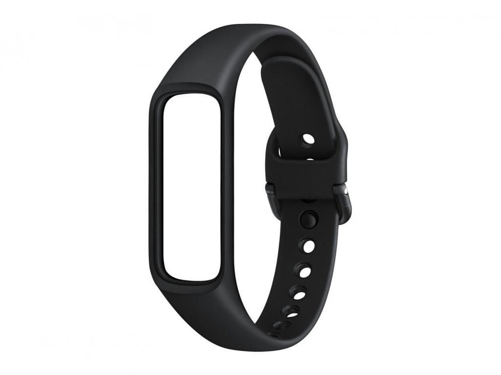цена на Аксессуар Ремешок Samsung Galaxy Fit E (M) Black ET-SU375MBEGRU