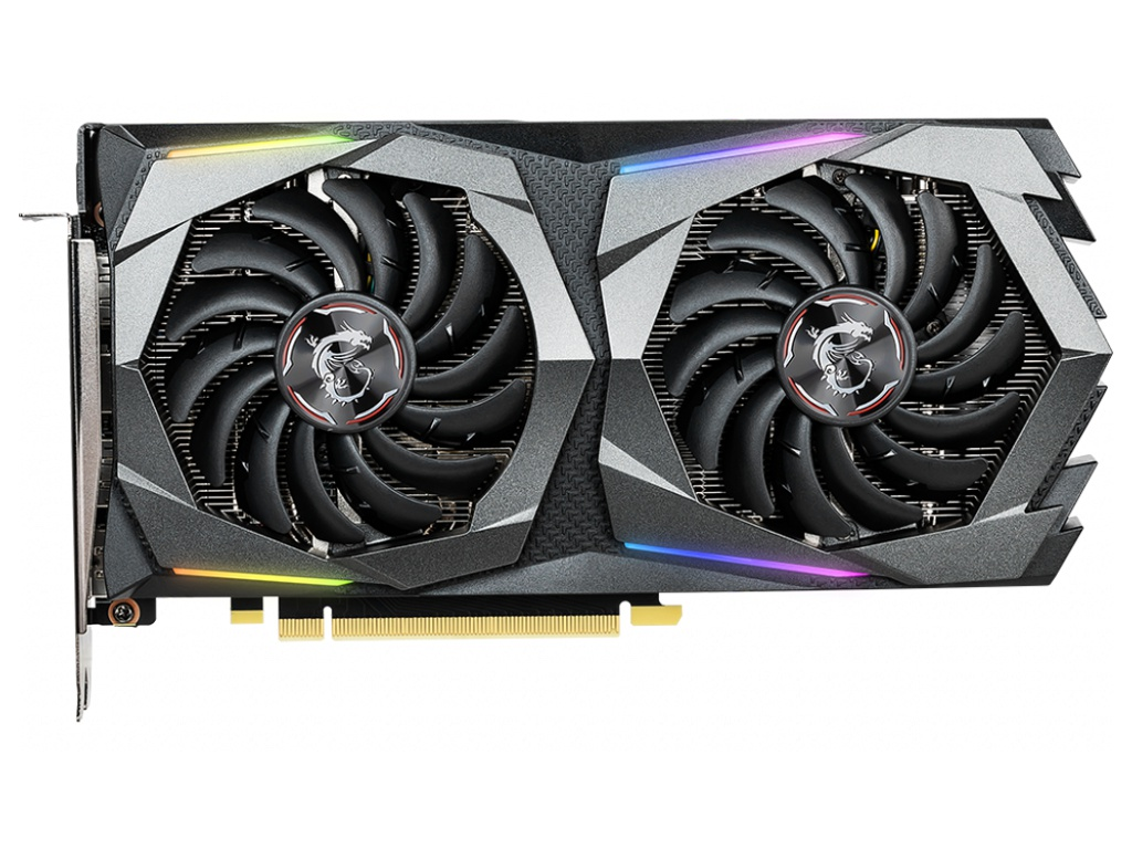 Видеокарта MSI GeForce GTX 1660 Ti GAMING 1770Mhz PCI-E 3.0 6144Mb 12000Mhz 192 bit HDMI HDCP 6G