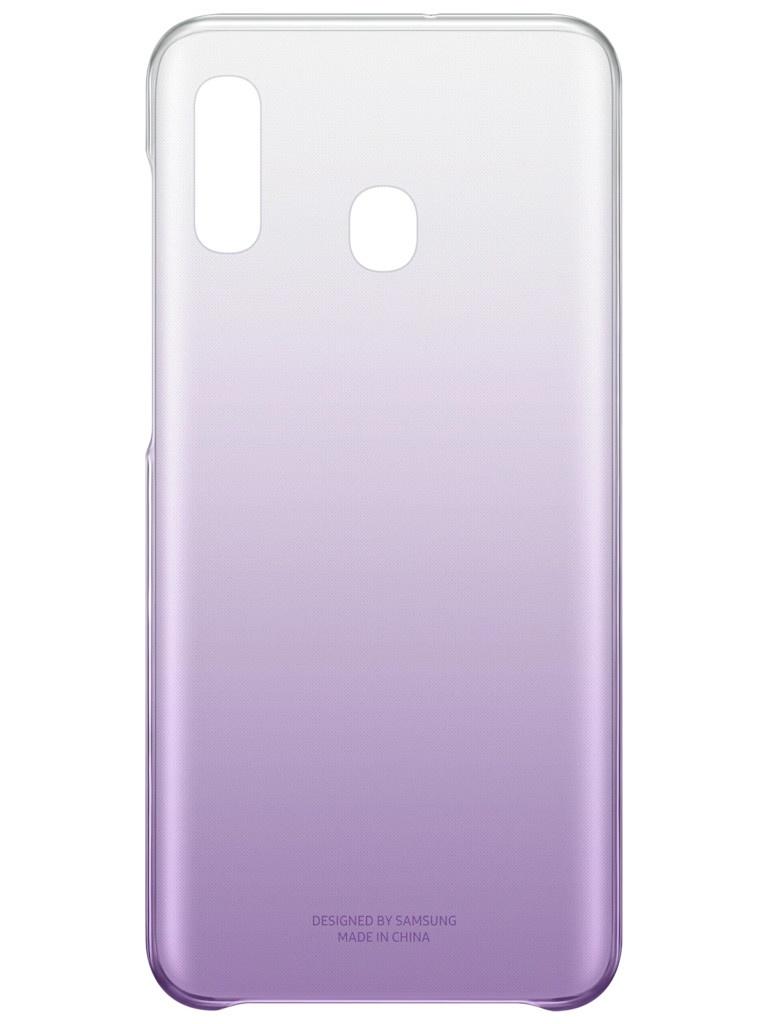 Фото - Аксессуар Чехол для Samsung Galaxy A205 Gradation Cover Violet EF-AA205CVEGRU аксессуар