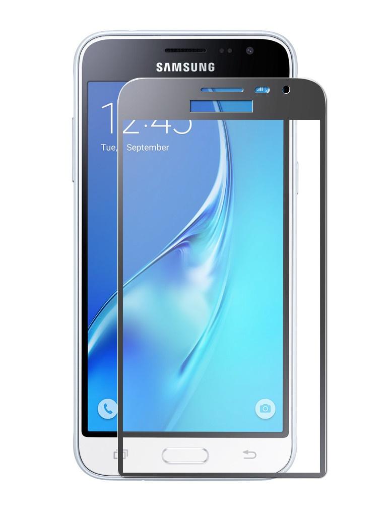 Аксессуар Защитное стекло Dekken для Samsung Galaxy J3 2016 Full Screen Full Glue 2.5D 9H 0.33mm Black Frame 20934 аксессуар защитное стекло для samsung galaxy j2 prime g532 dekken 2 5d 9h 0 26mm 20388